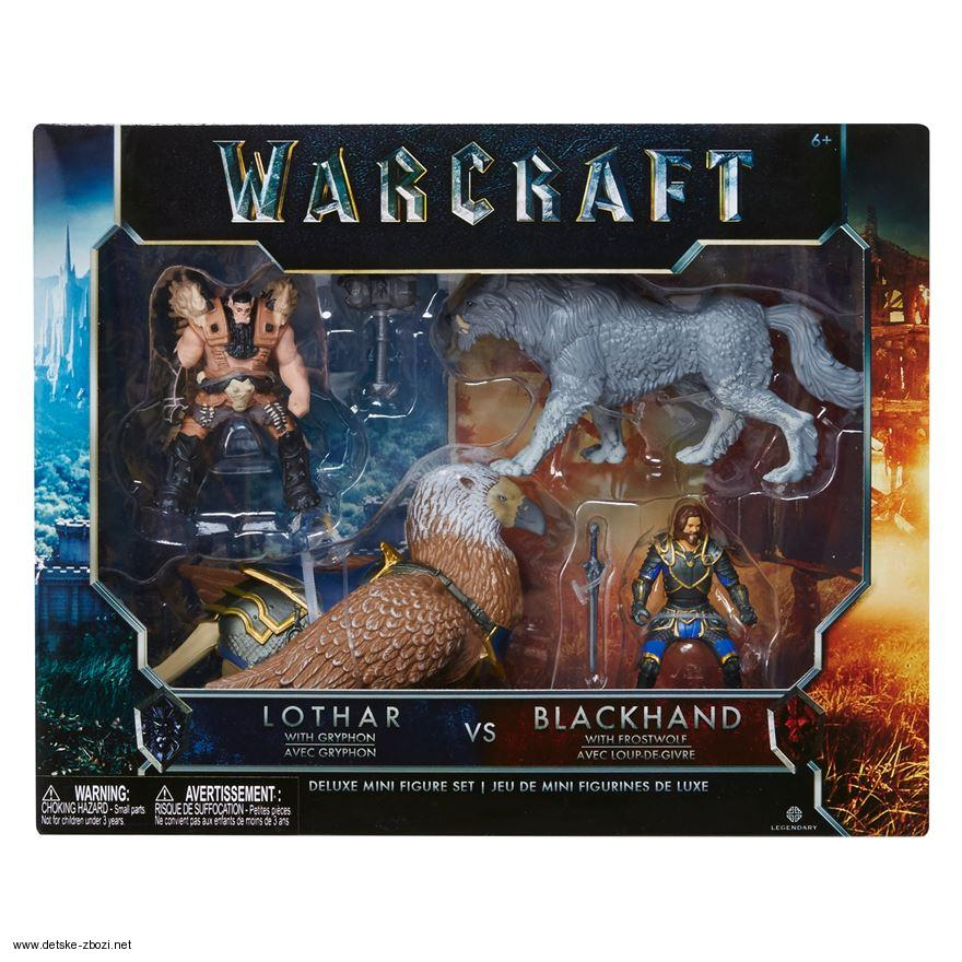 Jakks Pacific Warcraft The Movie Battle In A Box Action Figures Boxed Set