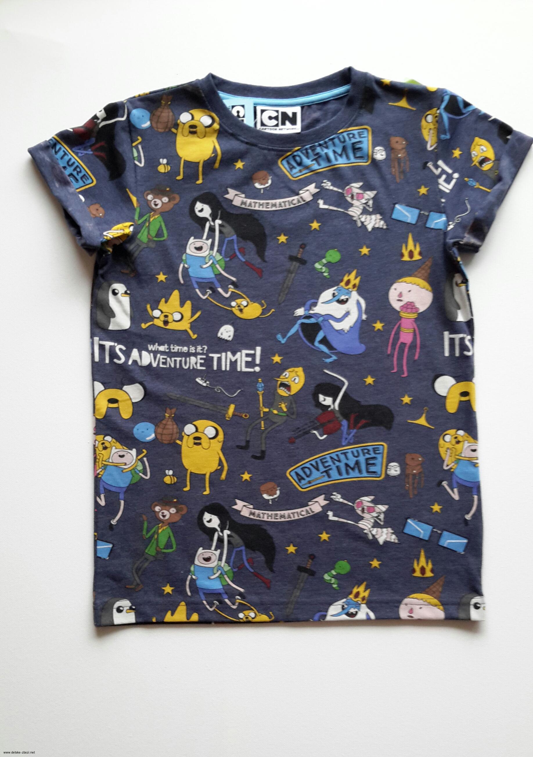 Chlapecké tričko s potiskem ADVENTURE TIME  e839abbd57