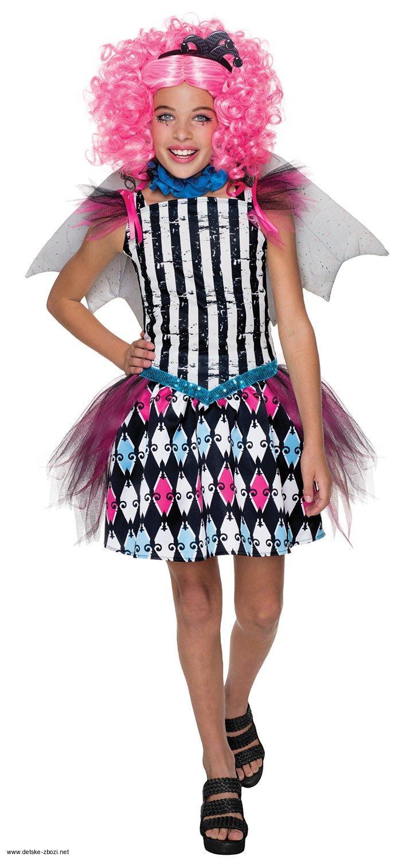 000f5d33280 Rubie s Monster High Freak du Chic Rochelle Goyle karnevalový kostým 8 - 10  let
