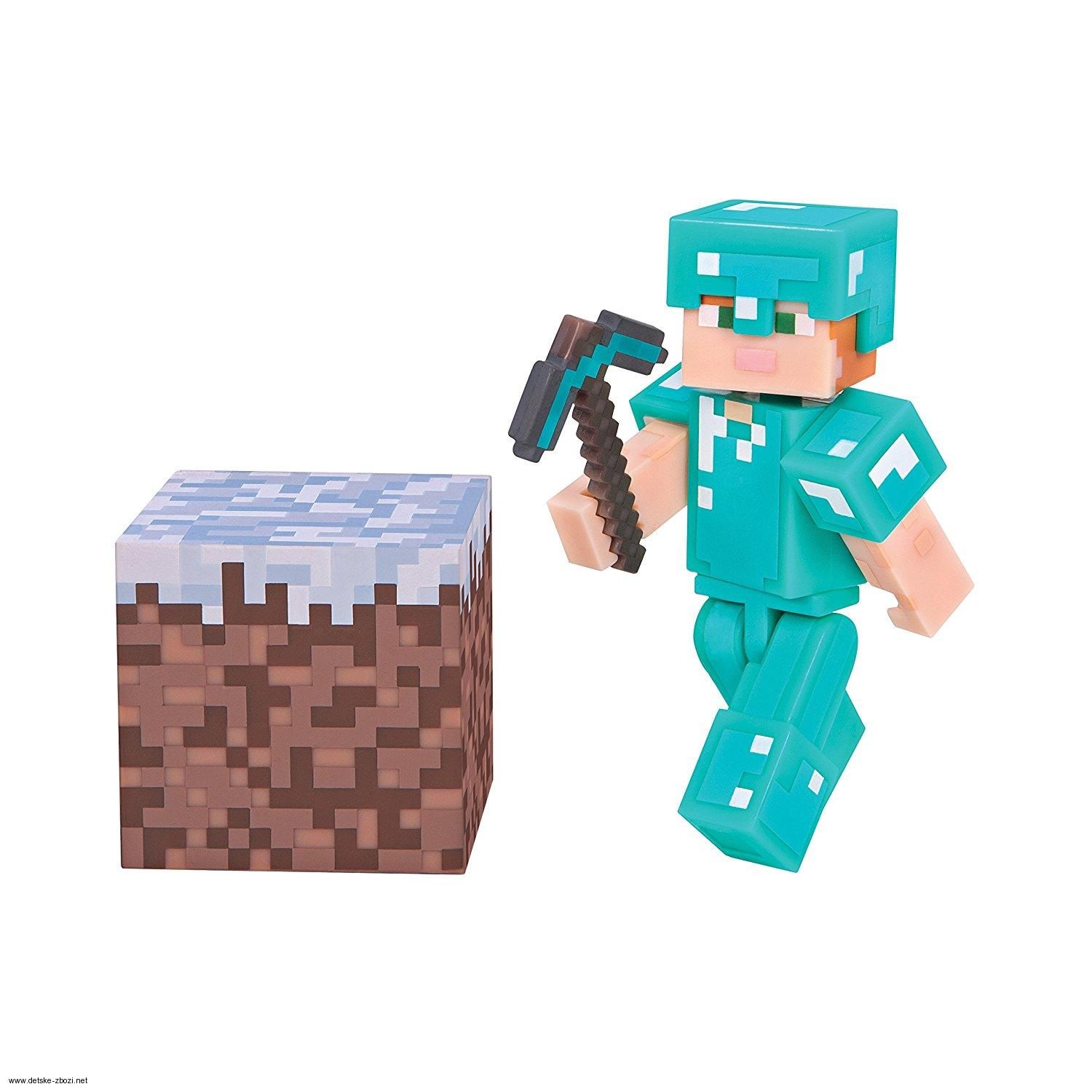 Jinx Minecraft Diamantový Alex figurka 7 cm