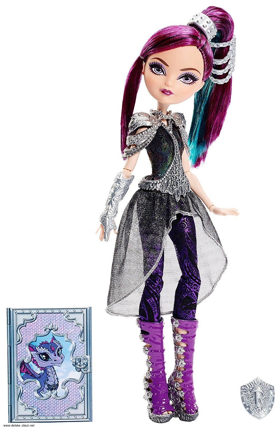 Mattel Ever After High Raven Quenn Dračí hry panenka 27 cm