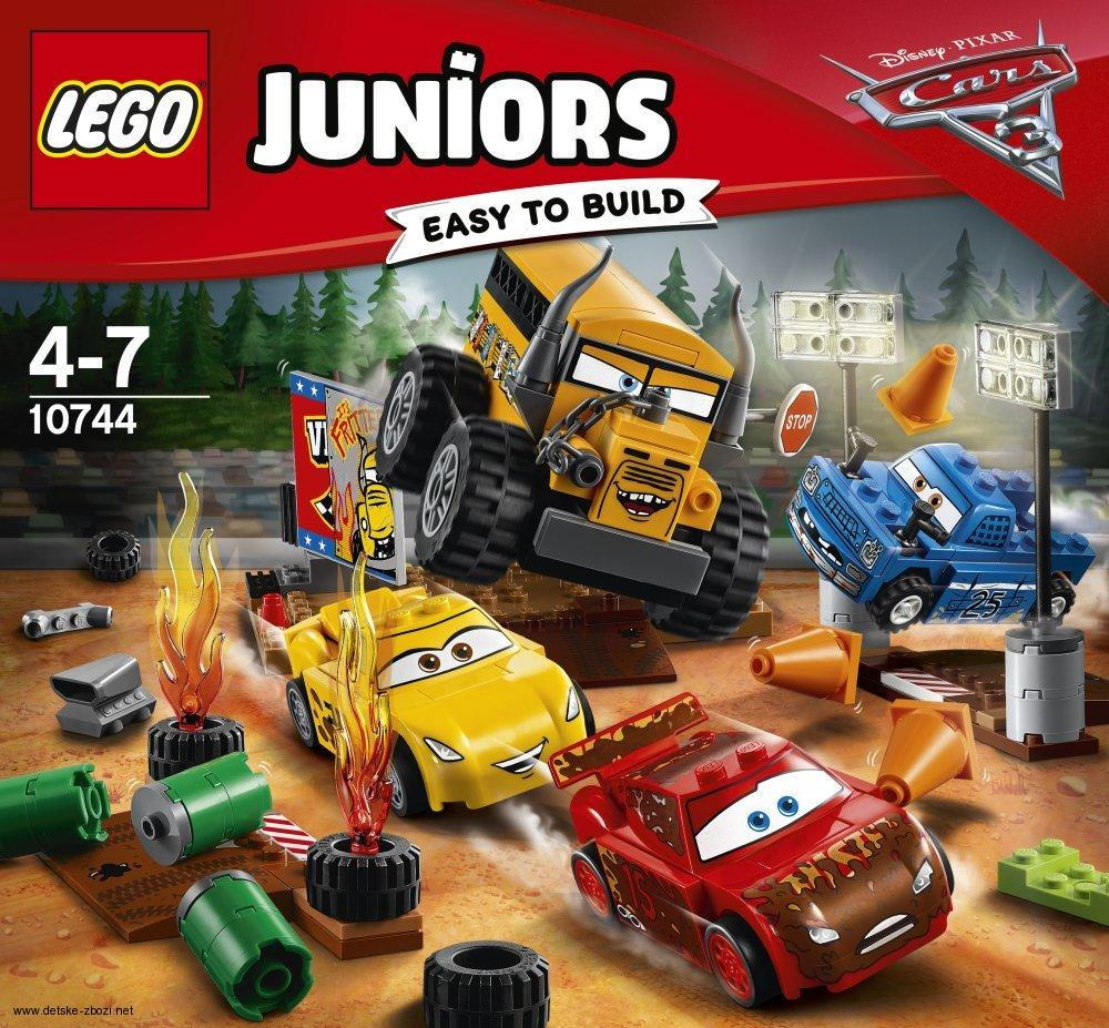 Lego JUNIORS Disney Cars 3 10744 Závod Thunder Hollow Crazy 8