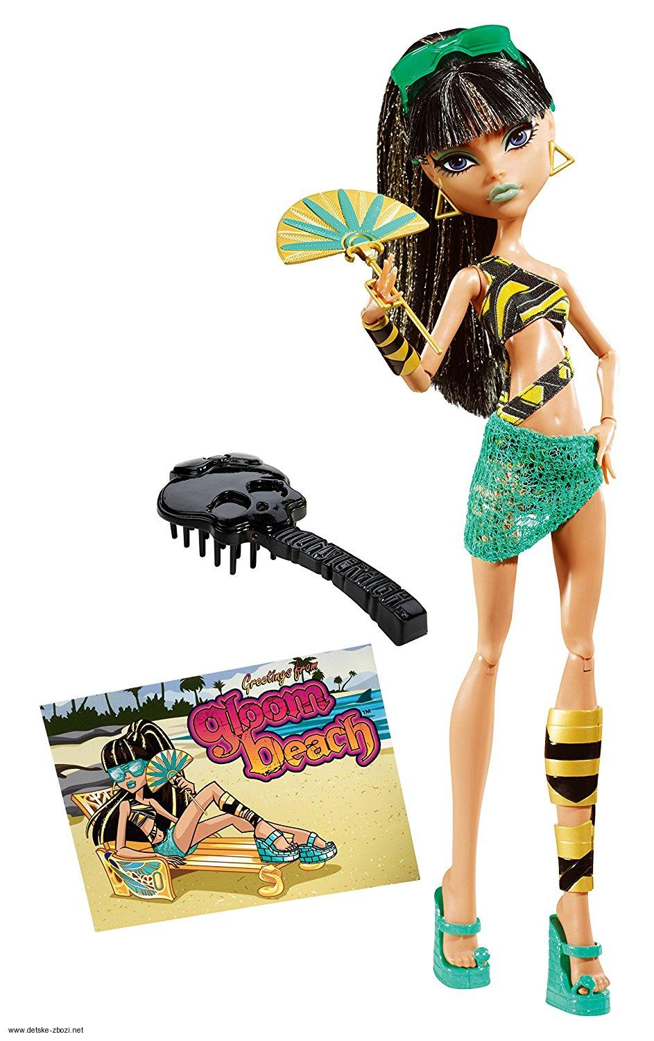 Mattel Monster High Cleo de Nile plavková 28 cm