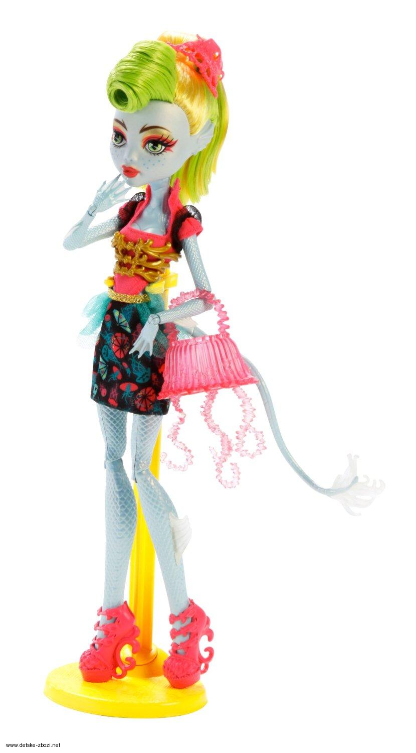 Mattel Monster High Monstrozní splynutí  LagoonaFire