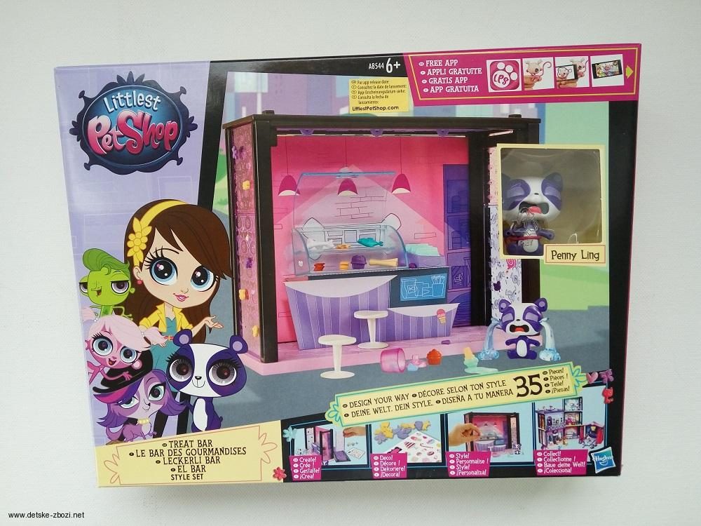 LPS Littlest Pet Shop Treat Bar zvířátko Penny Ling