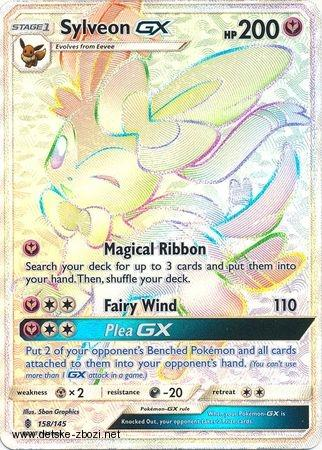 Sm02 Guardians Rising - 158/145 Sylveon GX (full art - rainbow)