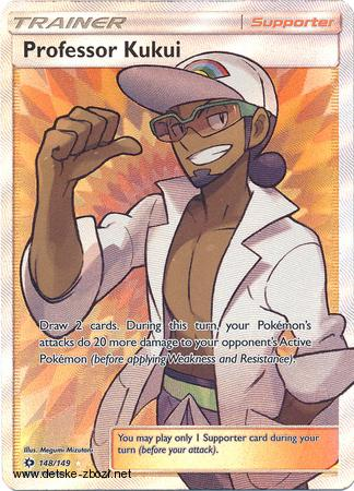 Sm01 SM - 148/149 Professor Kukui - Trainer (full art)
