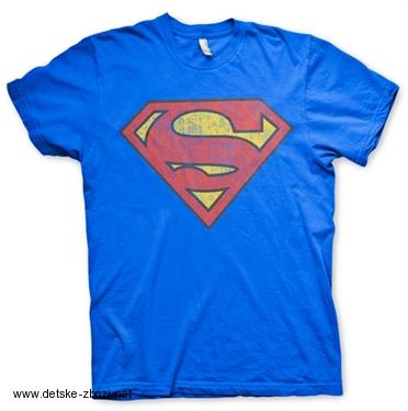 53705f81222d Pánské triko SUPERMAN WASHED SHIELD T-SHIRT