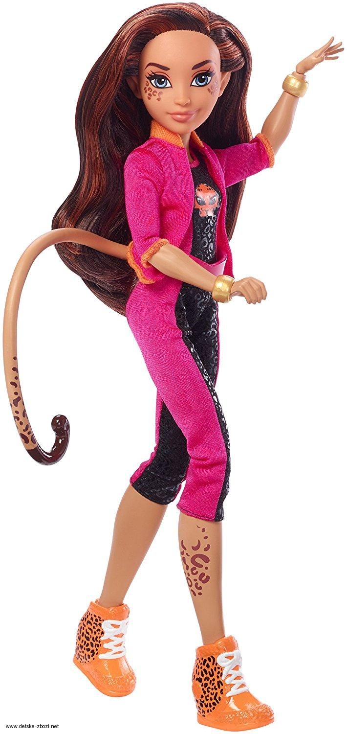 Mattel Dc Super Hero Girls Cheetah panenka 30 cm