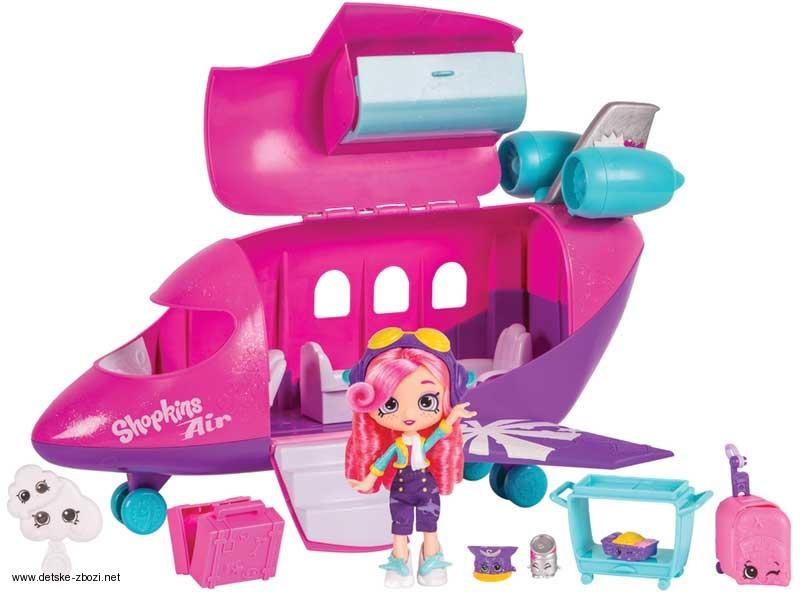 MOOSE SHOPKINS SHOPPIES SKYANNAS TRYSKÁČ HRACÍ SET