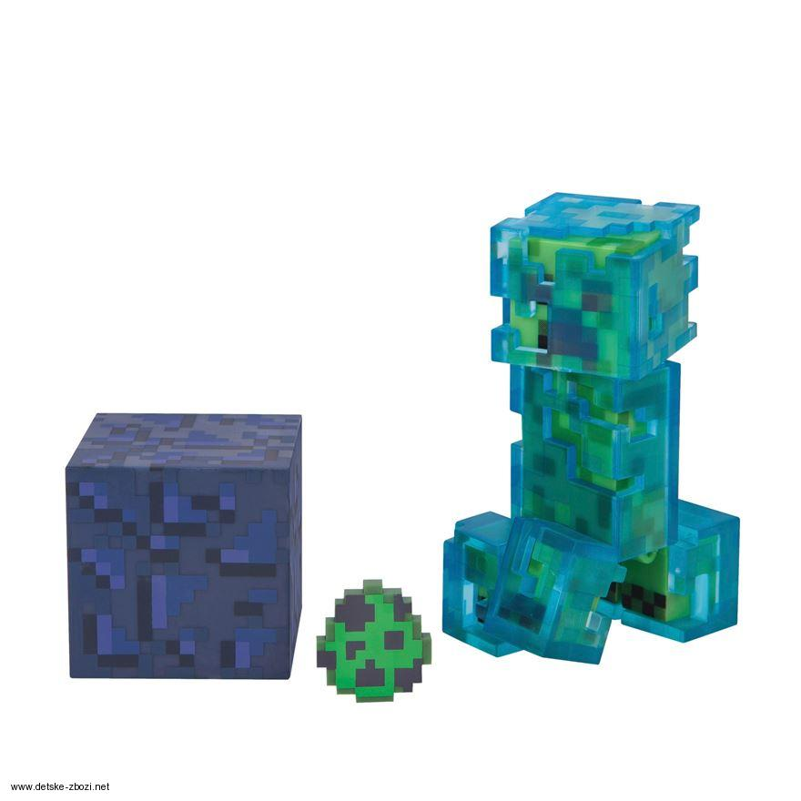Mojang Minecraft Figurka Charged Creeper 8 Cm