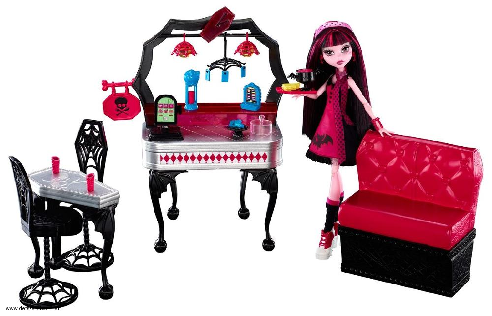 Monster High Kavárna s Draculaurou