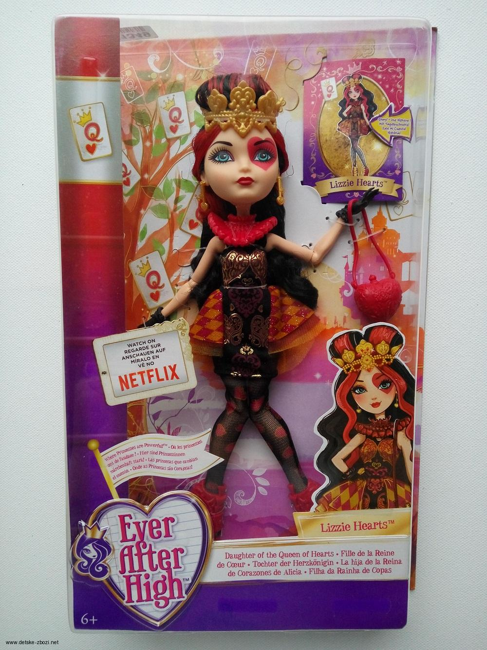 Mattel Ever After High Royal Lizzie Hearts 28 cm