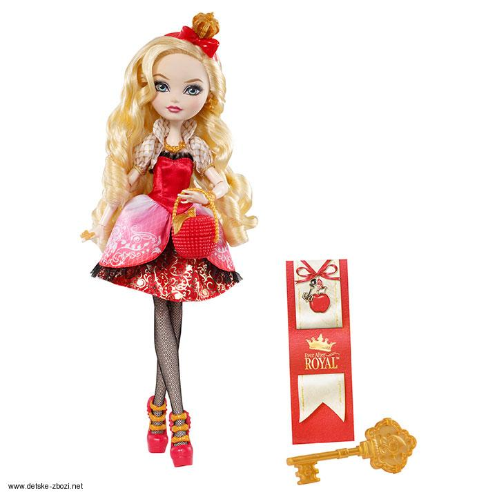 Mattel Ever After High Šlechtici Apple White