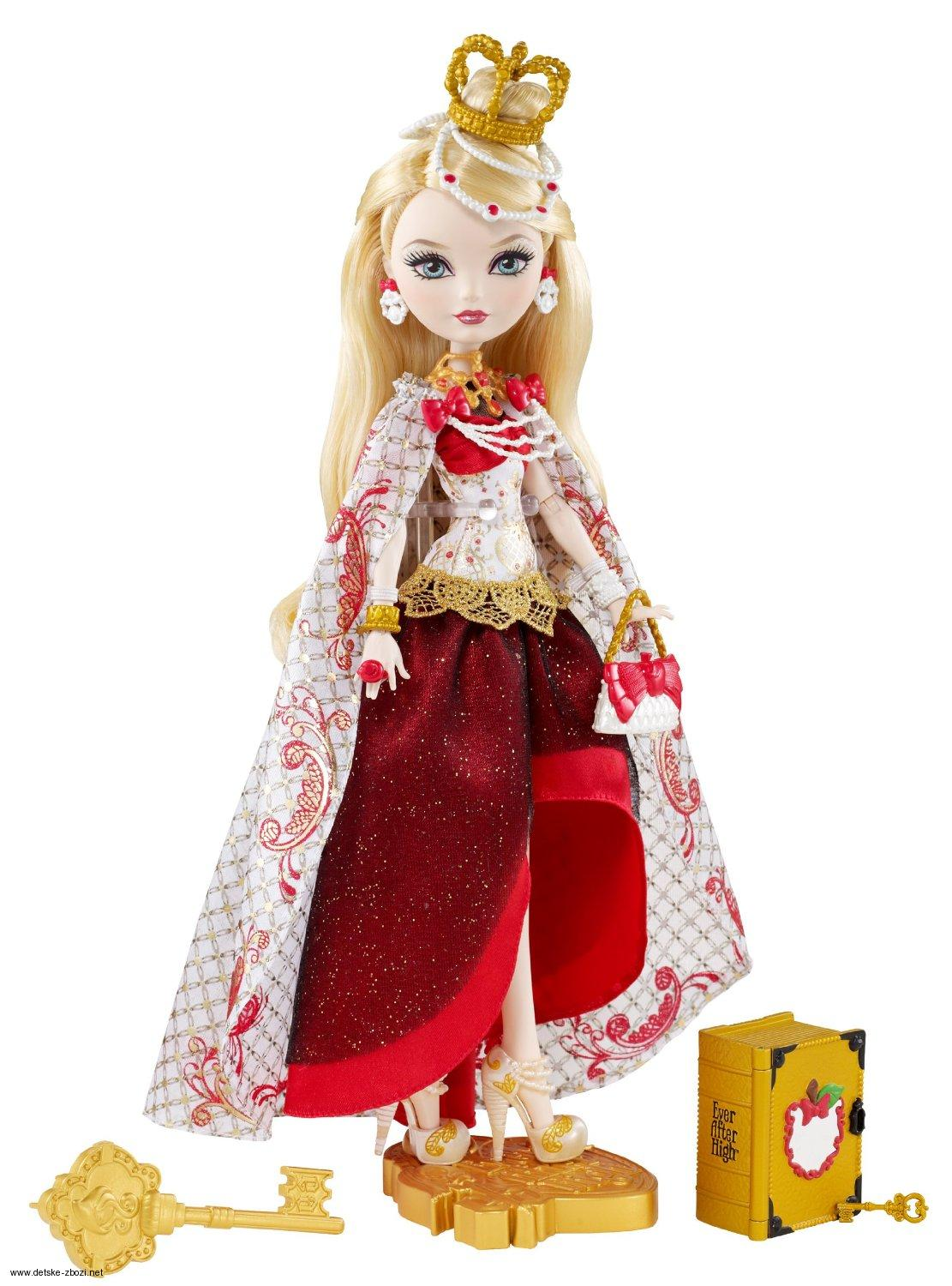 Mattel Ever After High Den dědictví Apple White panenka