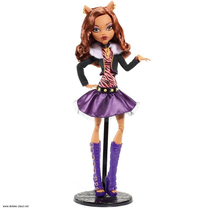Mattel Monster High Clawdeen Wolf 43 cm vysoká