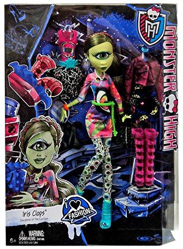 Mattel Monster High I Love Fashion Iris Clops Panenka 27 Cm