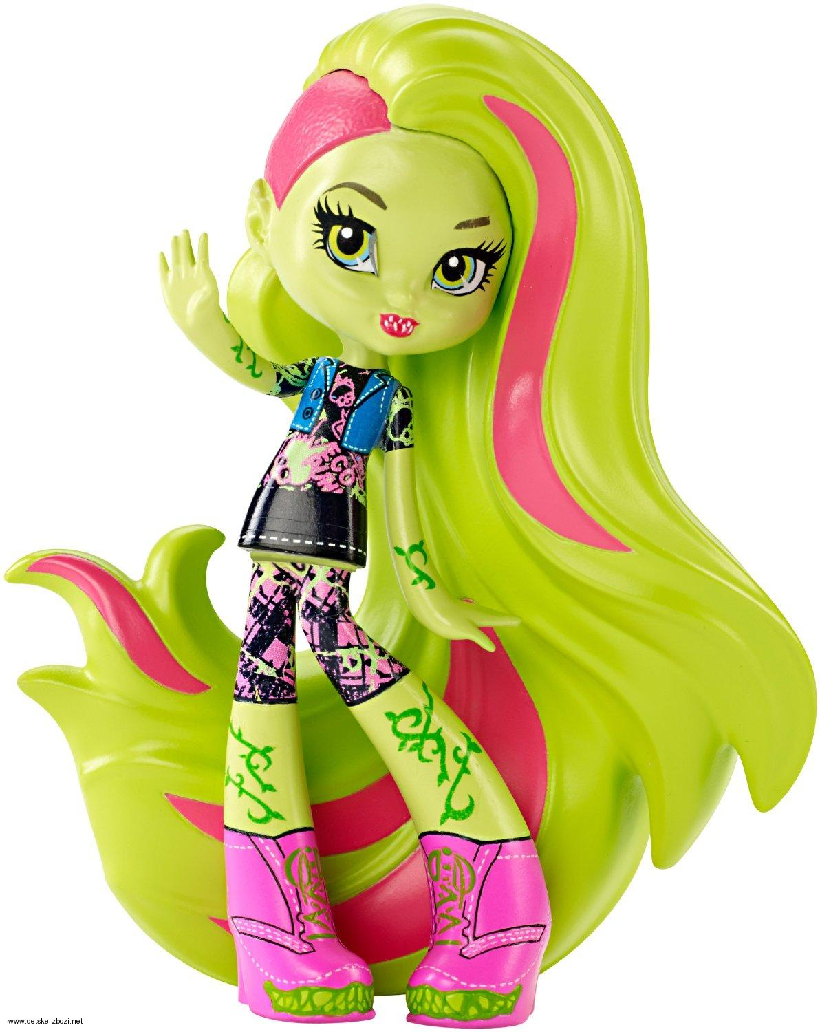 Mattel Monster High Venus Mc FlyTrap vinylová panenka 11 cm