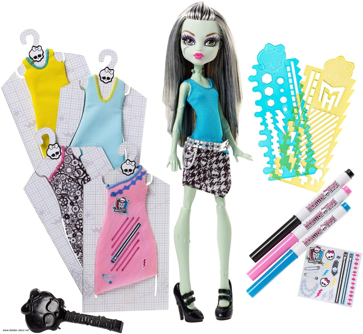 Mattel Monster High Boutique Frankie Stein panenka 27 cm