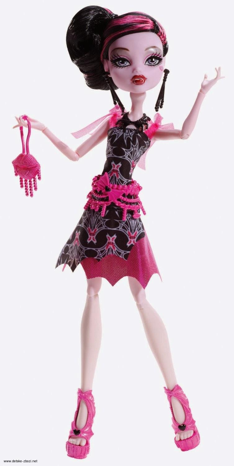 Mattel Monster High Draculaura Howlywood panenka 27 cm
