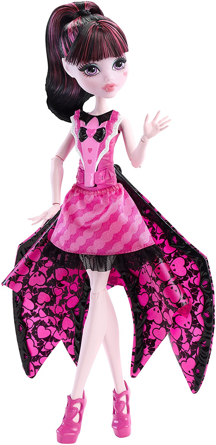 Mattel Monster High Draculaura Netopýrka 27 cm