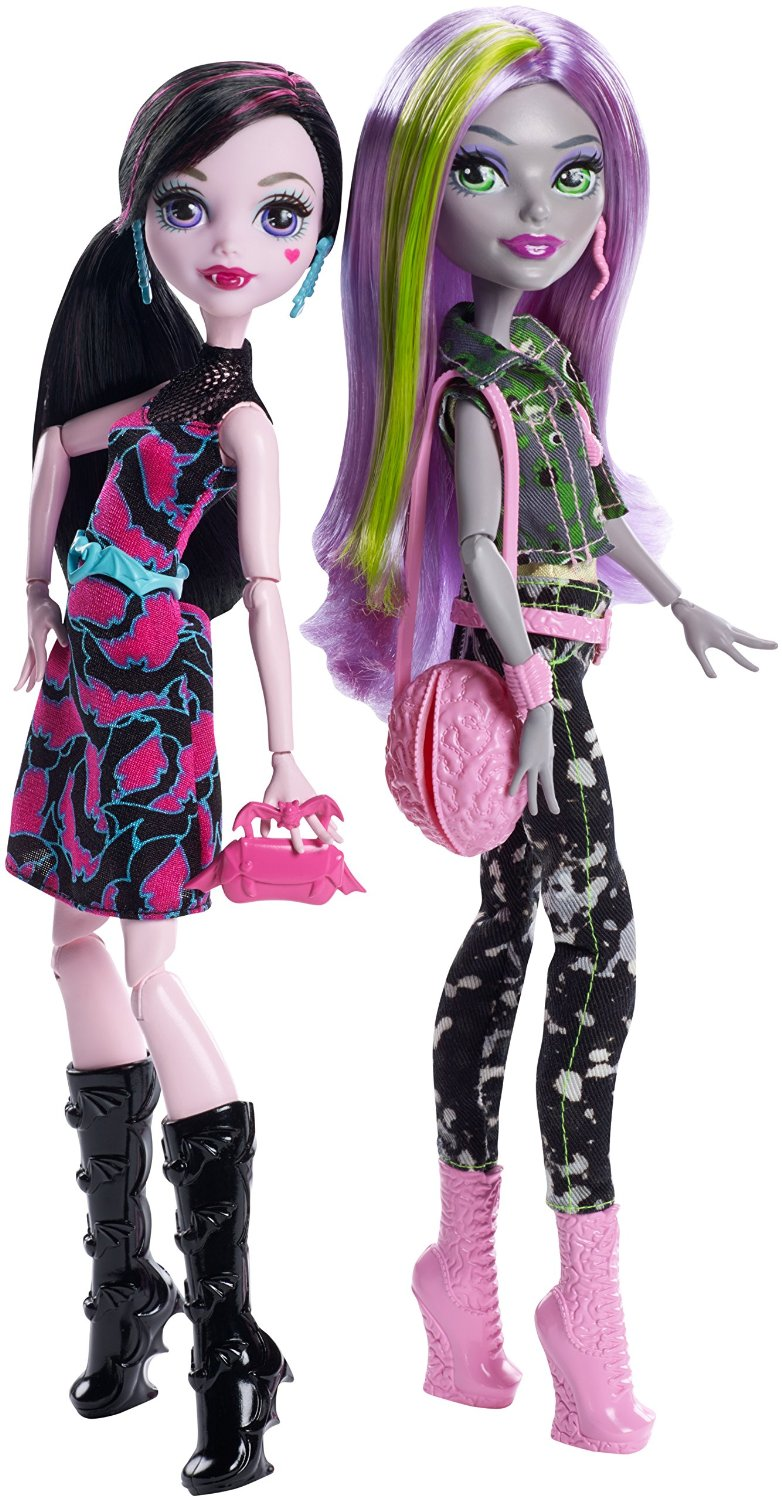 Mattel  Monster High duo panenek Draculaura + Moanica D´Kay