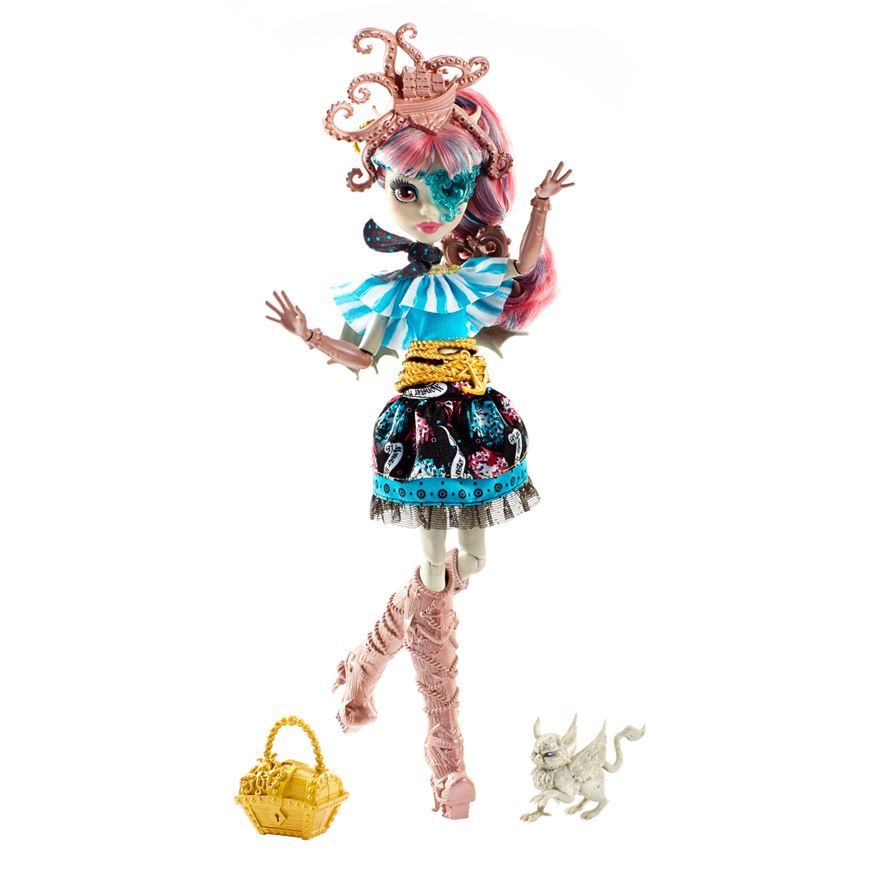 Monster High Rochelle Goyle Shriek Wrecked panenka 27 cm