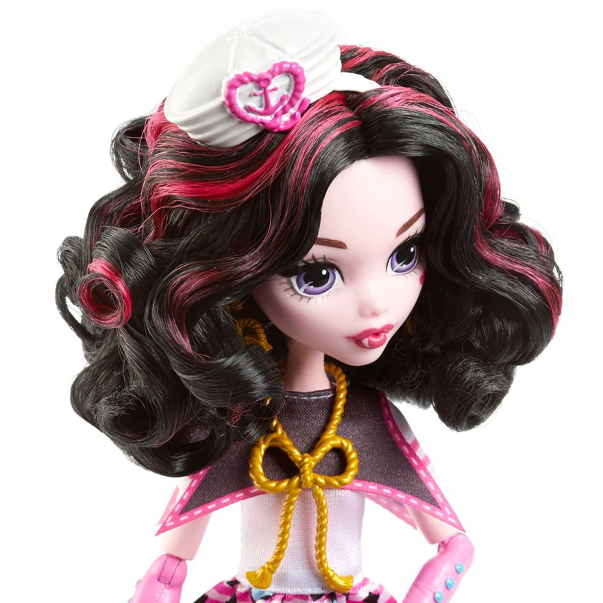 Monster High panenka Draculaura Shriek Wrecked