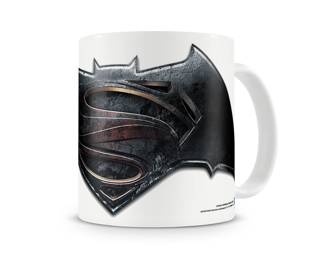 DC Comics Batman Vs Superman Logo originál hrnek 11 cm