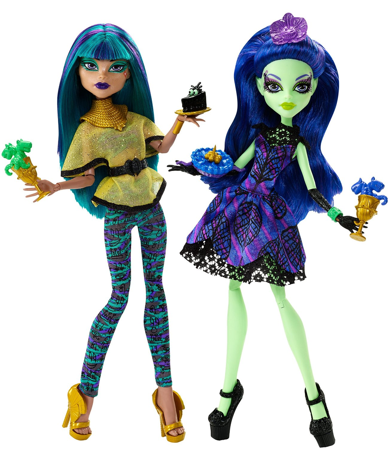 Mattel Monster High Křik a cukr Amanita Nightshade a Nefera de Nile