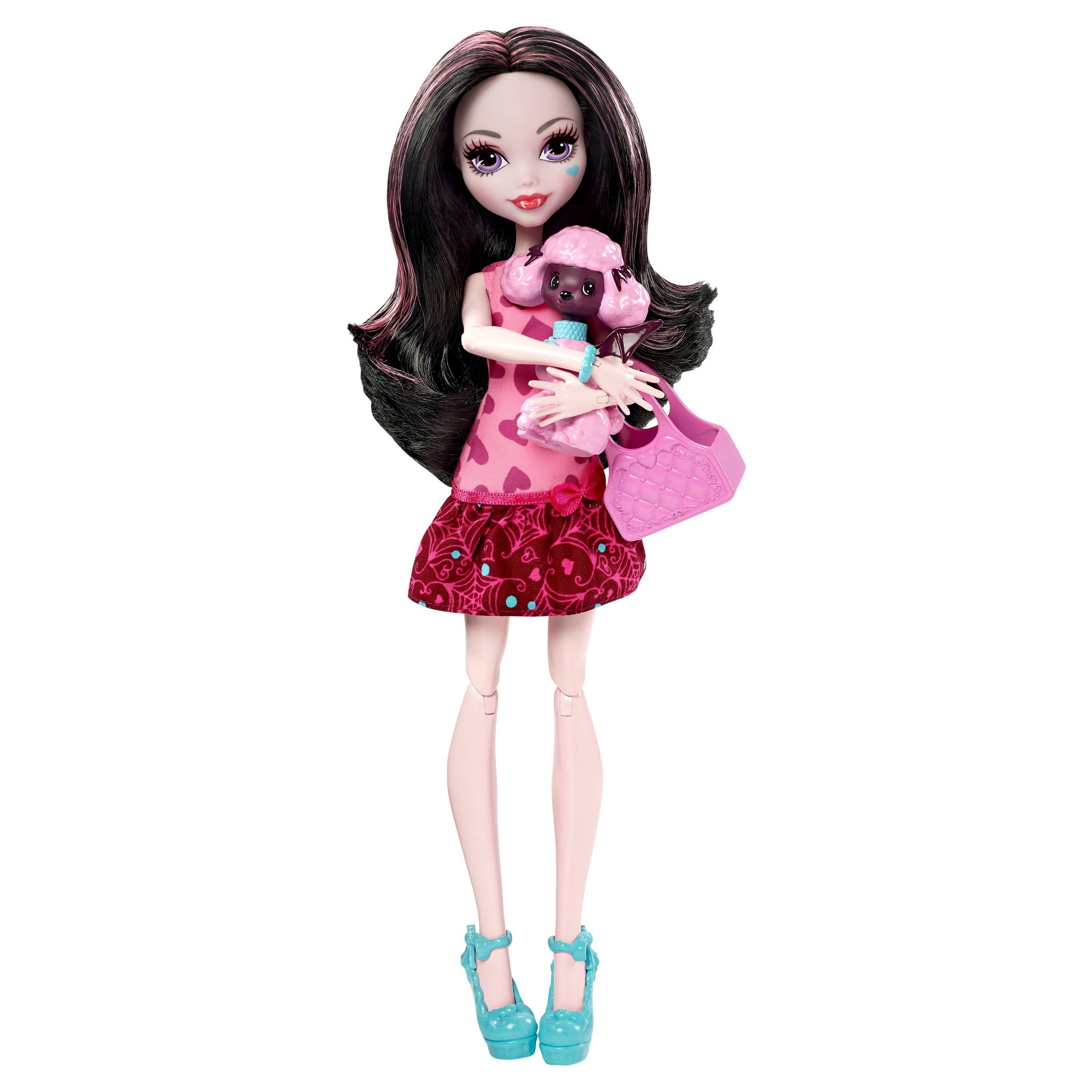 Mattel Monster High Draculaura s mazlíčkem