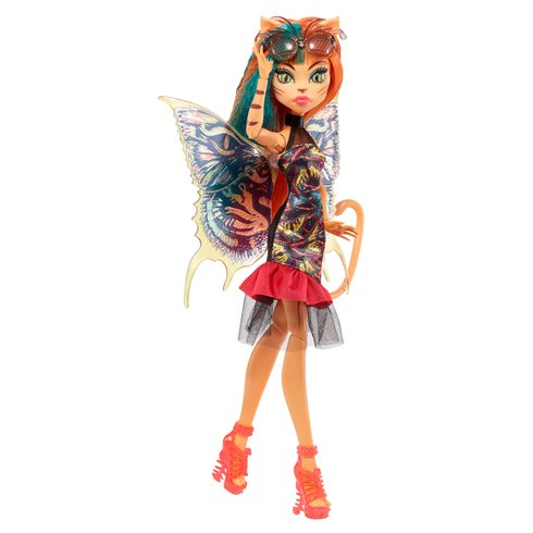 Mattel Monster High Toralei Stripe Ghouls Garden 27 cm
