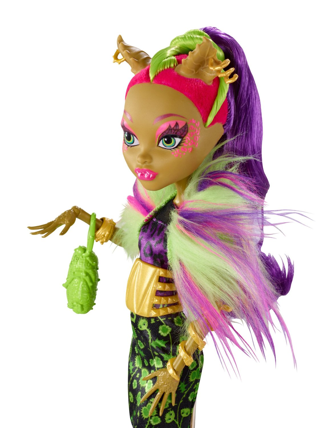 Monster High Monstrozní splynutí Clawvenus 27 cm
