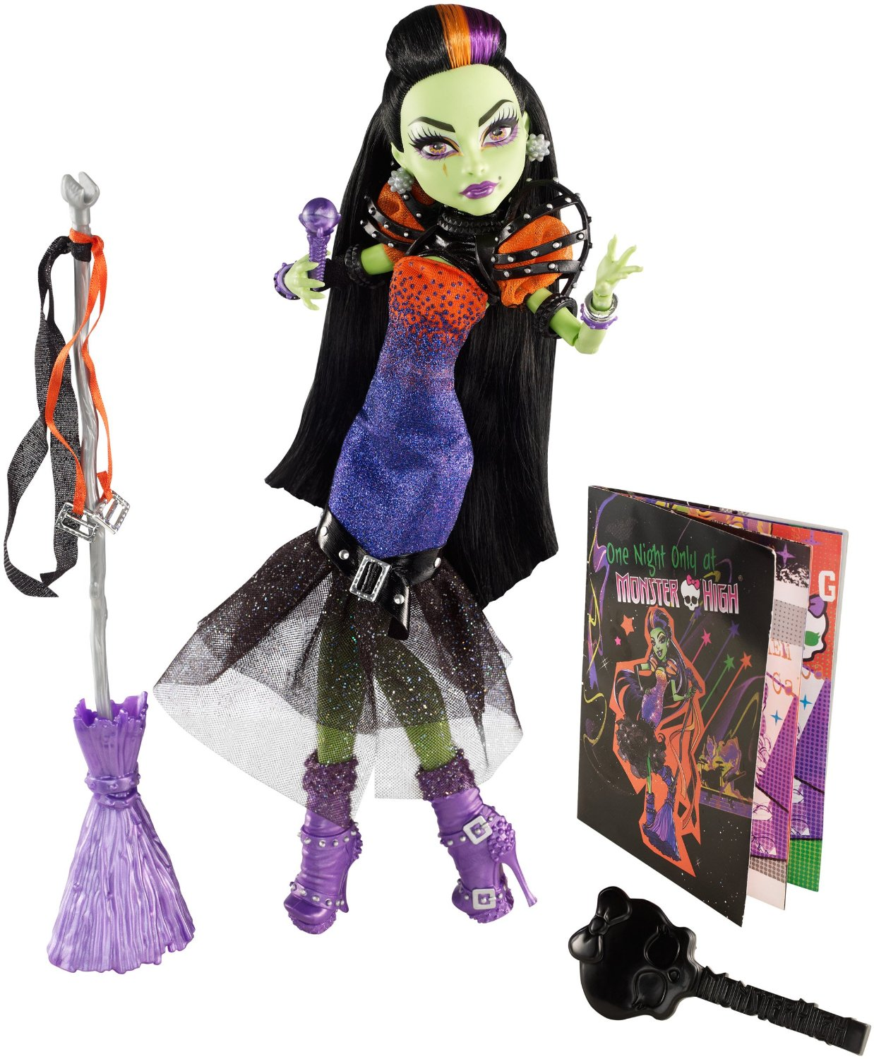 Mattel Monster High  čarodejnice Casta Fierce