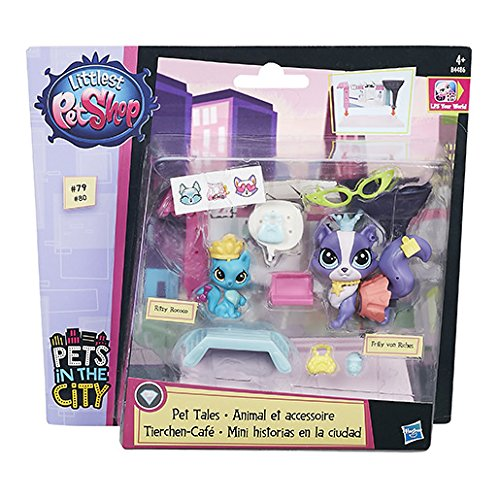 Hasbro Littlest Pet Shop LPS zvířátka Ritzy Rococo a  Frilly von Riches