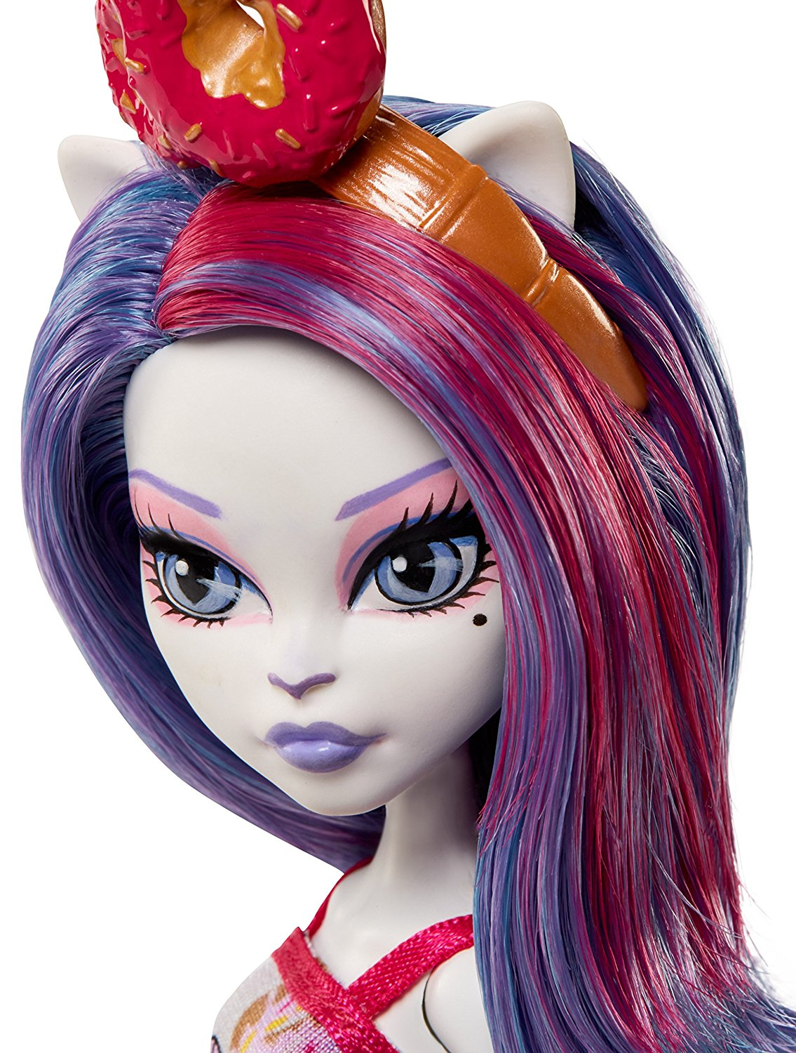 Mattel Monster High Catrine de Mew panenka 30 cm