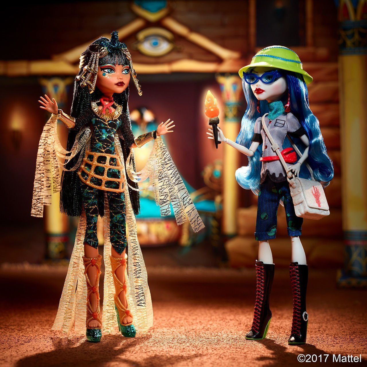 Mattel Monster High Cleo De Nile & Ghoulia Yelps Fashion panenky