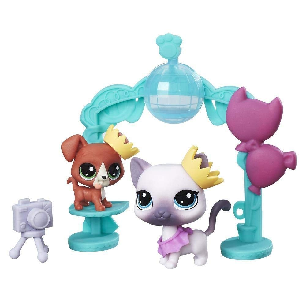 Hasbro LPS Littlest Pet Shop School dance smile