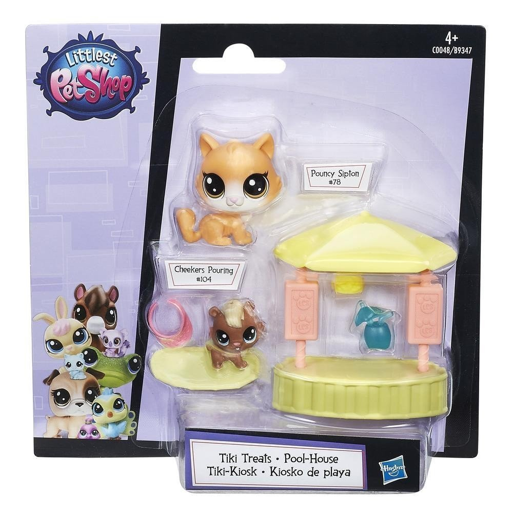 Hasbro LPS Littlest Pet Shop Tiki Treats