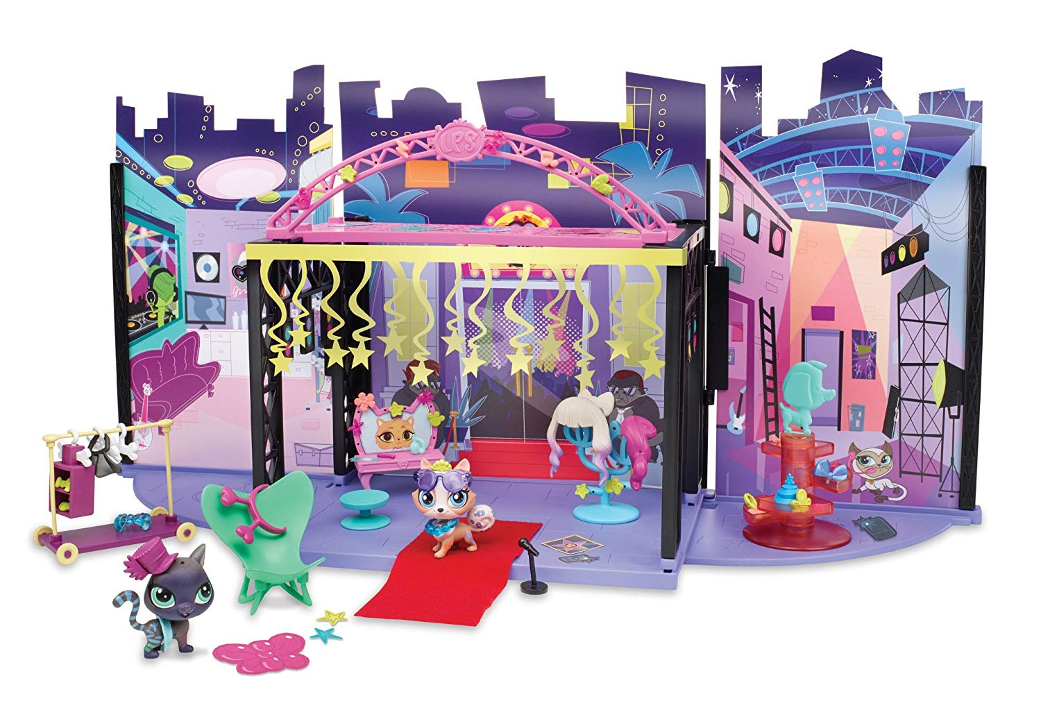 Hasbro Littlest Pet Shop LPS Backstage Zákulisí