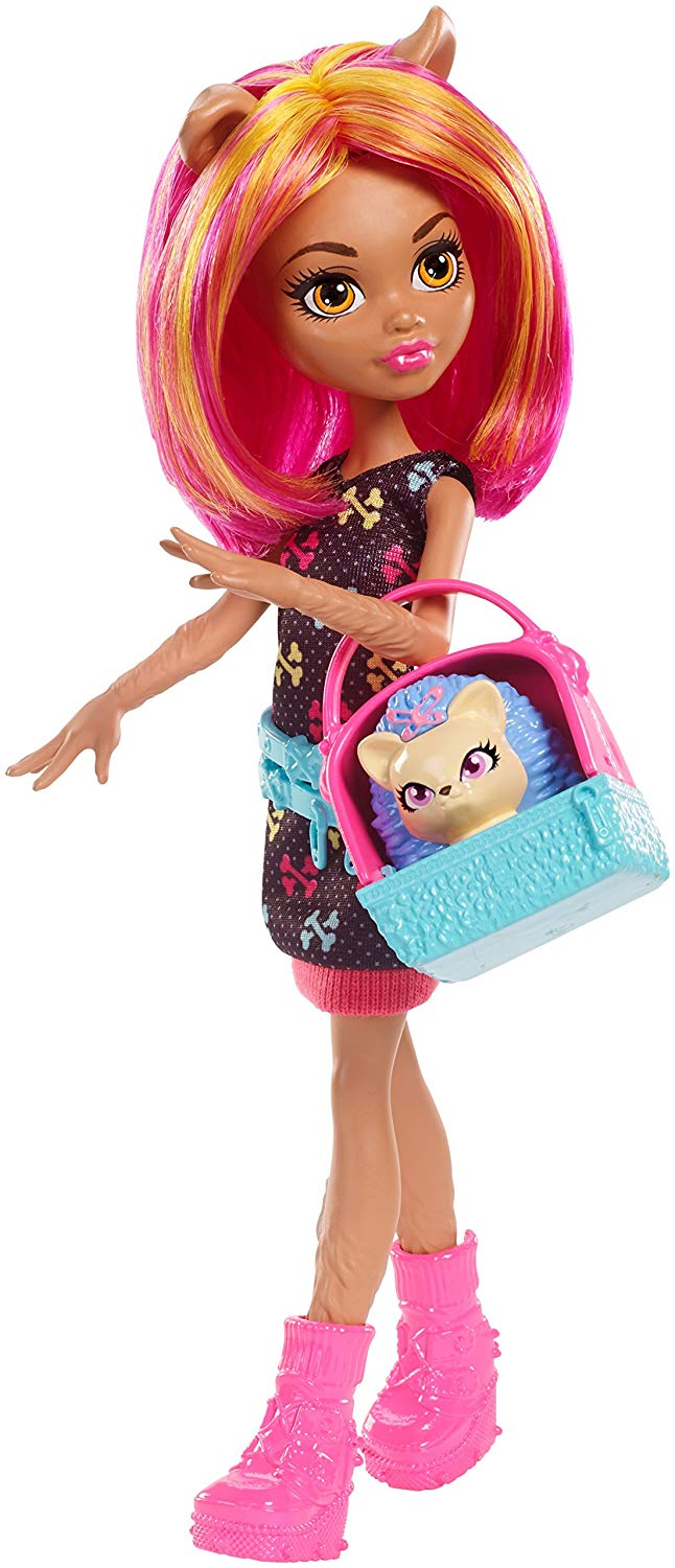 Mattel Monster High Howleen Wolf se zvířátkem