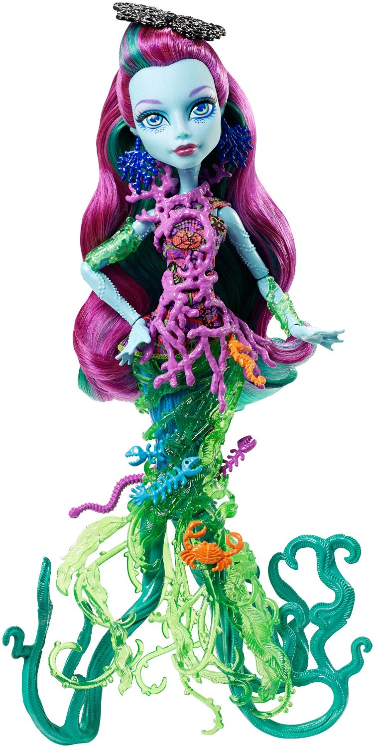 Mattel Monster High Posea Reef příšerka z útesu