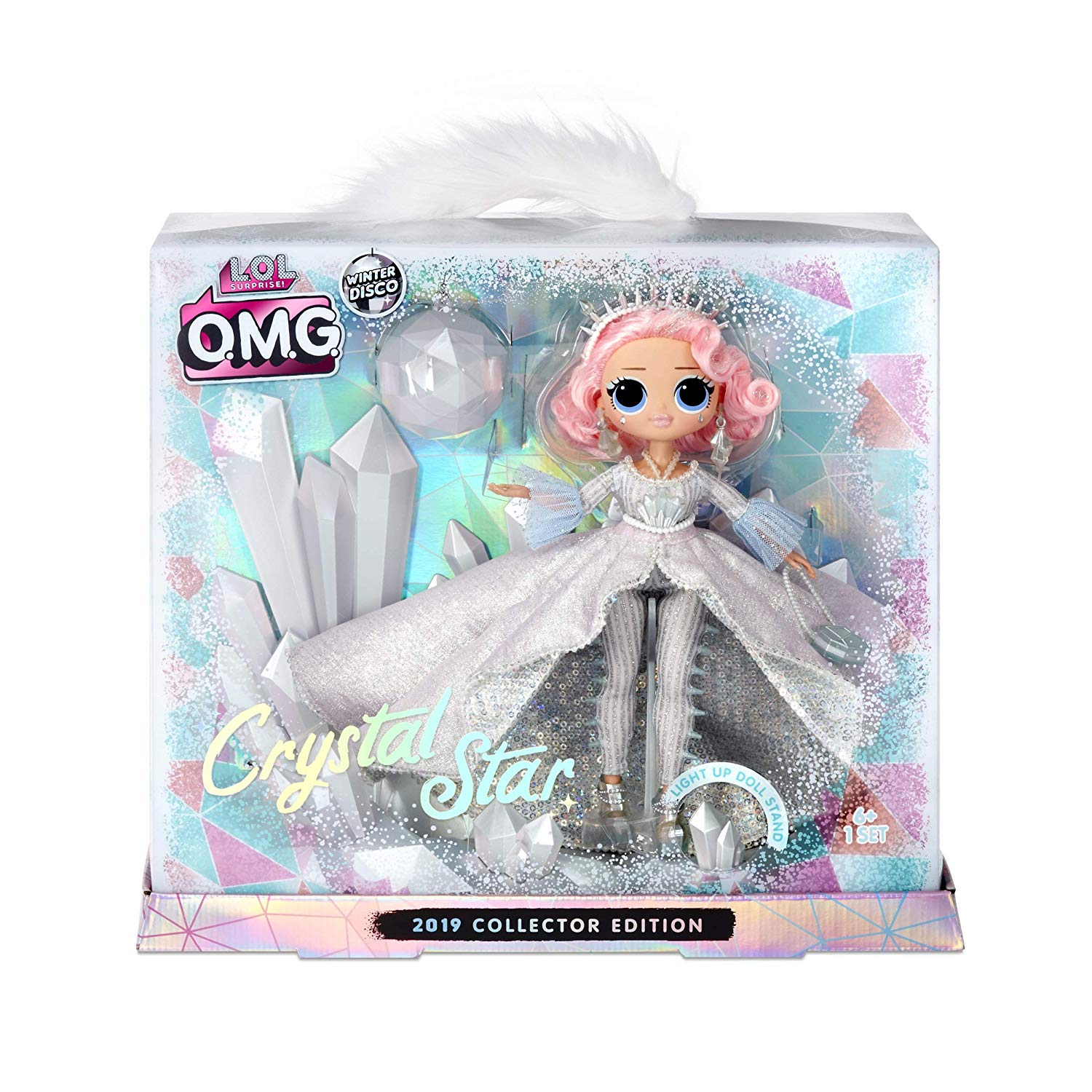 LOL Surprise Winter Disco OMG Crystal Star Fashion Doll