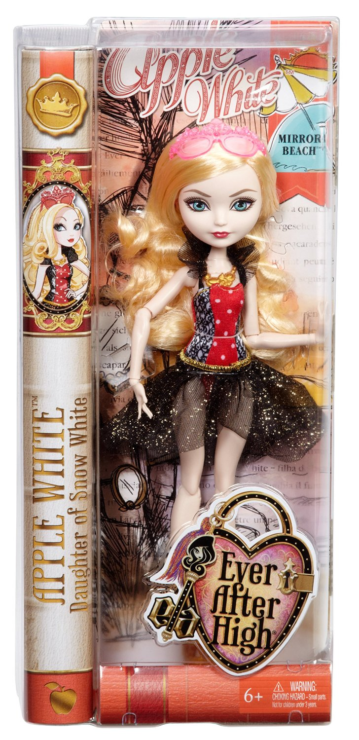 Mattel Ever After High Mirror Beach Apple White Doll