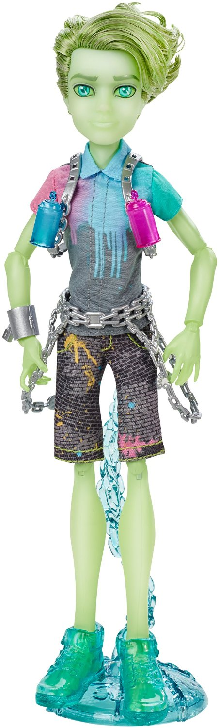 Mattel Monster High Porter Geiss duch panák 27 cm
