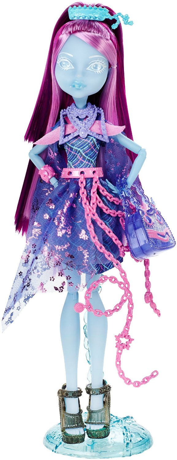 Mattel Monster High Příšerka jako duch Kiyomi Haunterly Haunted
