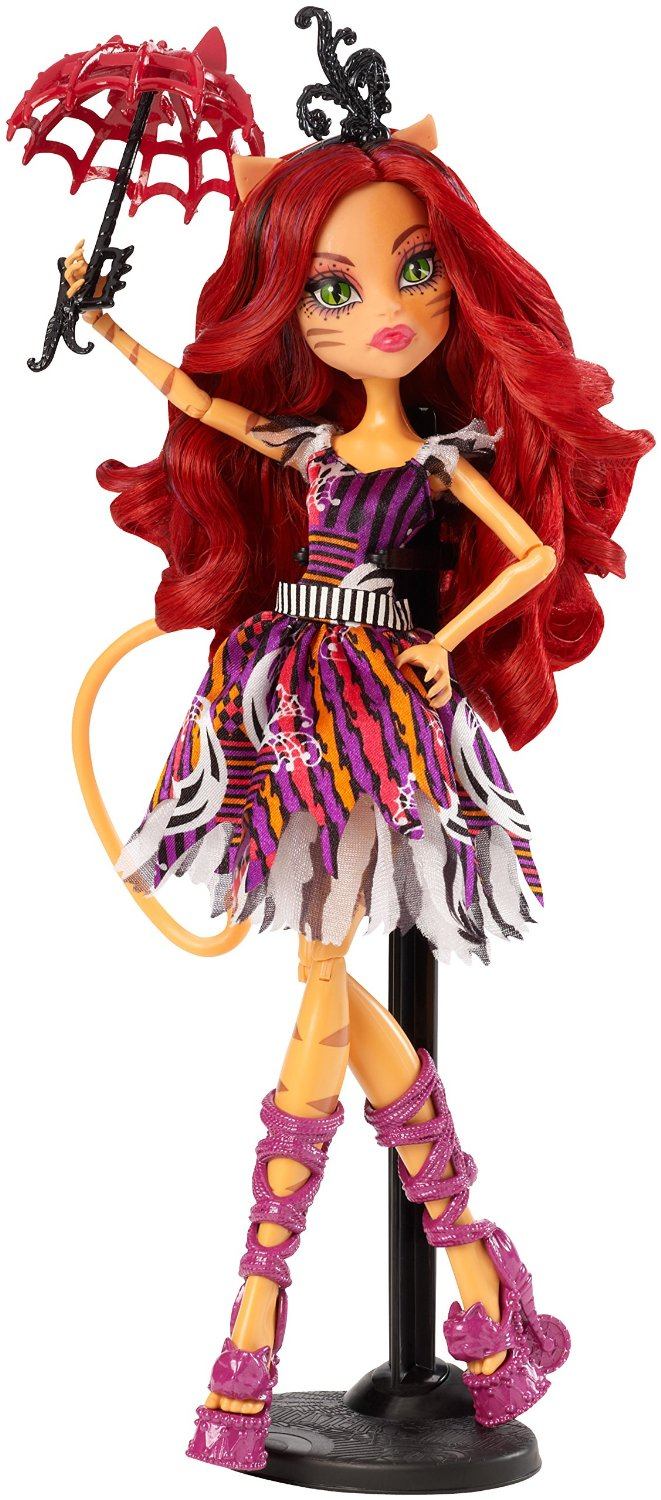 Mattel Monster High Toralei Stripe Freak du Chic