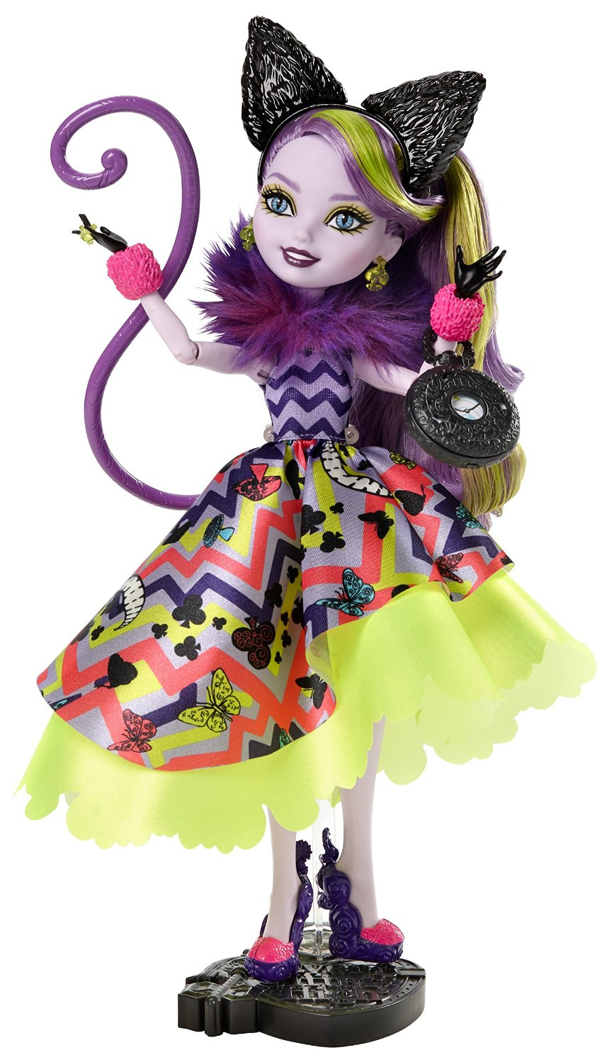 Mattel Ever After High Kitty Cheshire Way too Wonderland 28 cm