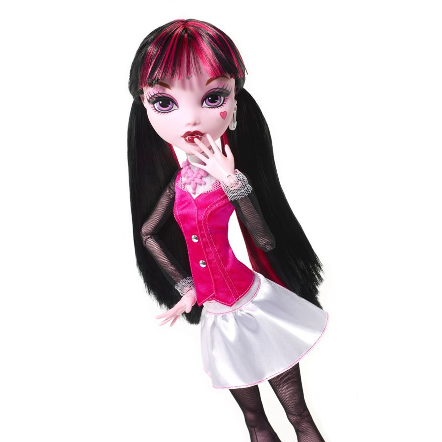 Mattel Monster High Draculaura panenka 43 cm