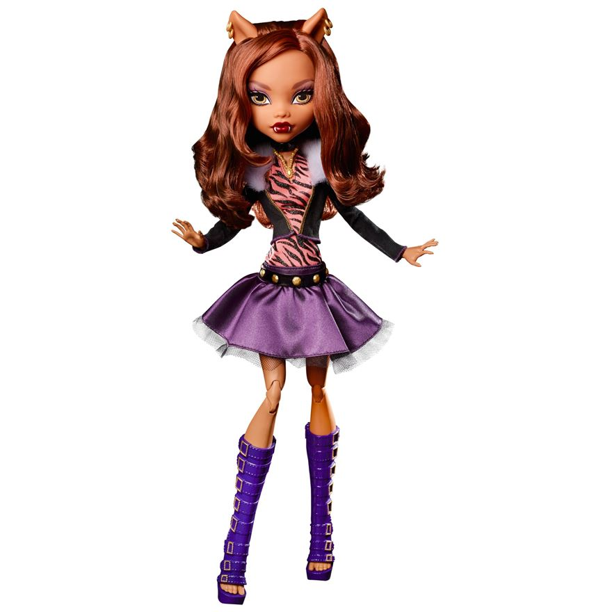 Mattel Monster High Clawdeen Wolf panenka 43 cm
